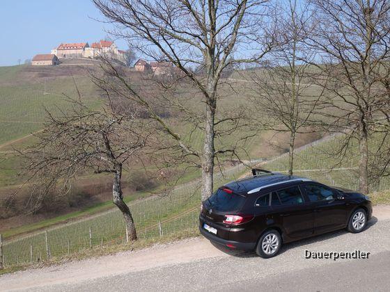 Heckansicht Schloss Staufenberg1
