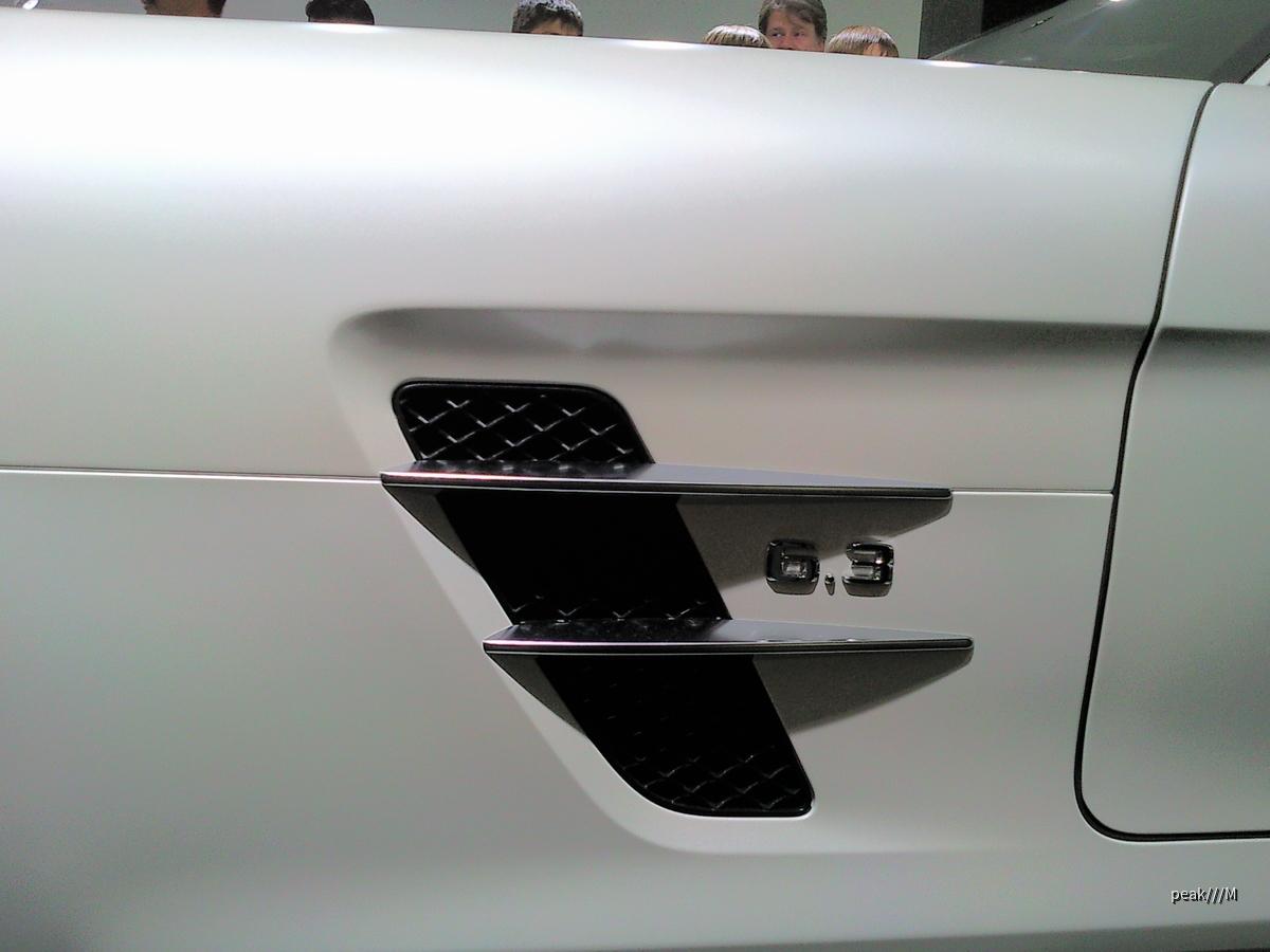 SLS AMG Coupé 6.2, 420 kW