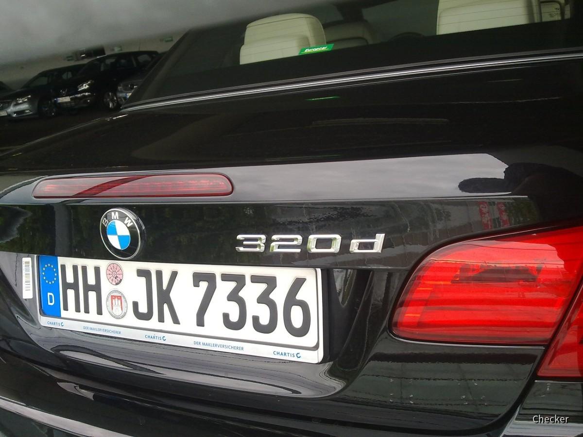 BMW 320d Cabrio - EC