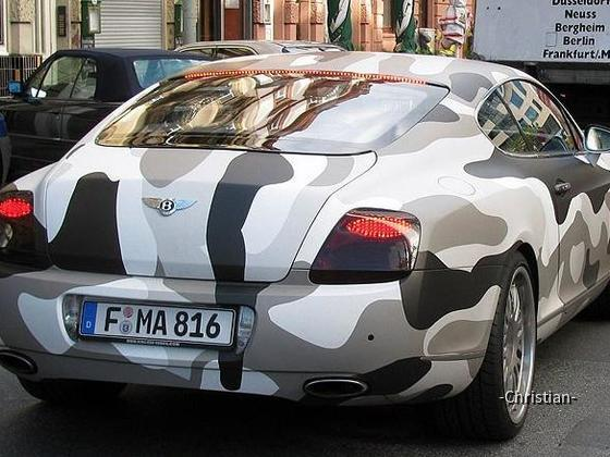 Camouflage Bentley FFM