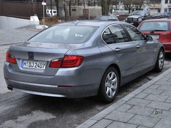 BMW F10 Versuchsträger