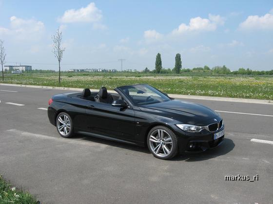 BMW 435i Cabrio. Sixt