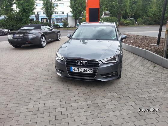 Audi A3 Sportback - Frontansicht (TDI - genaue Motorisierung unbekannt)