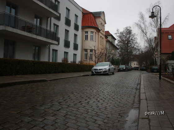 Passat CC von Sixt, Rostock 27.12.