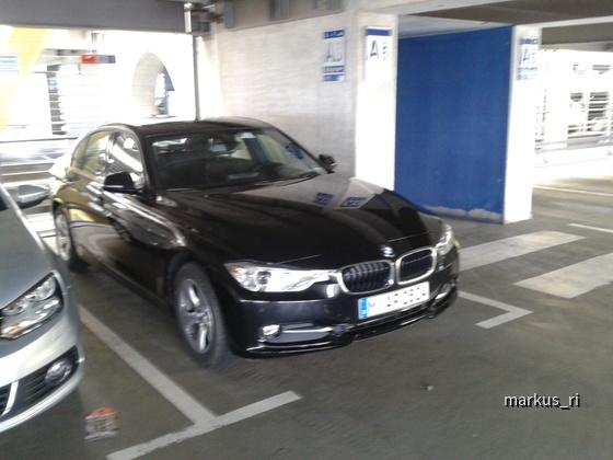 BMW 320d F30 @ SIXT LEJ 14.07.2012