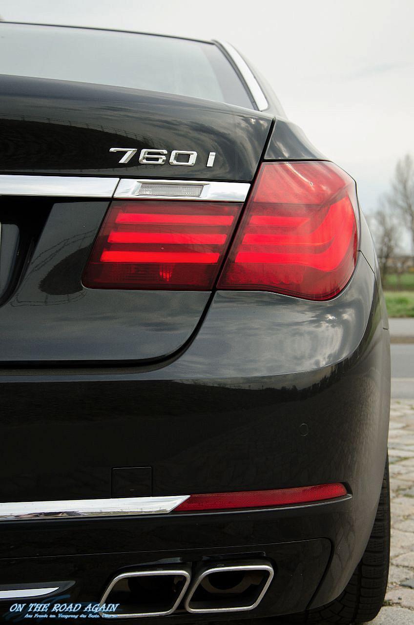Heck BMW 760i