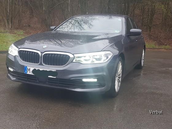 BMW 540i von vorne