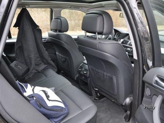 BMW X5 - Rückbank
