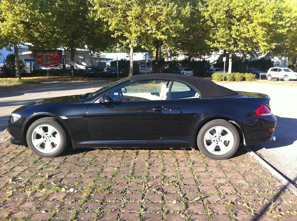 BMW 635d Cabrio Sixt Ansbach