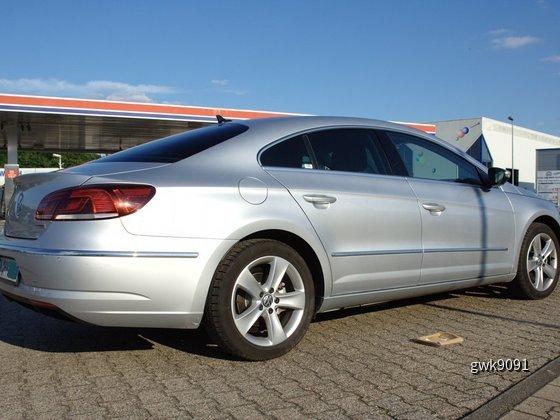 VW CC von Hertz