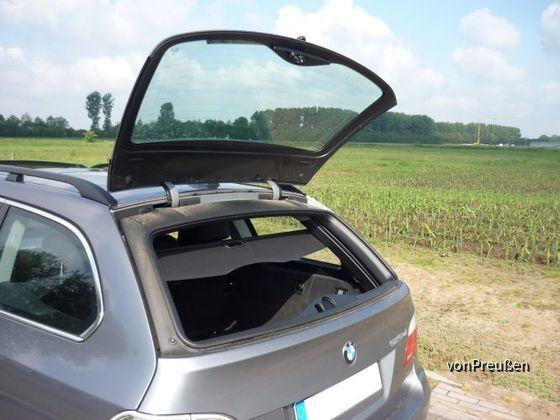 BMW 525d Touring Kofferraum