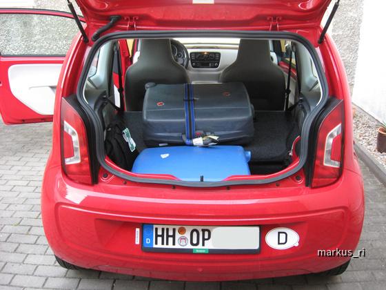 VW Up, Europcar