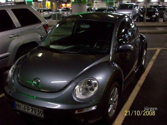 VW Beetle Europcar