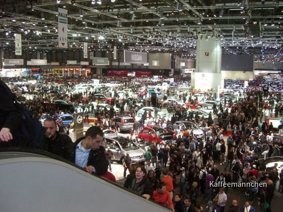 80. Autosalon in Genf