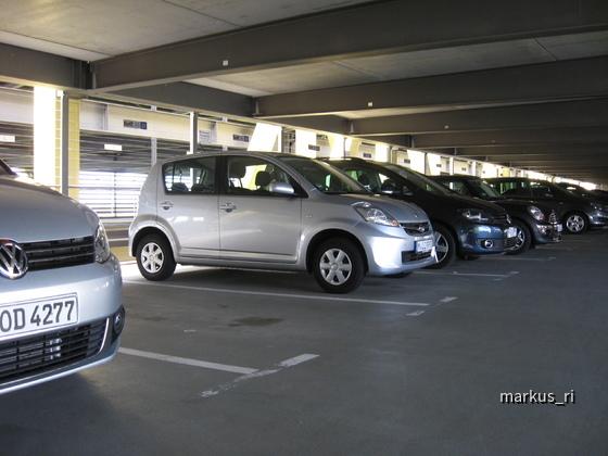 Sixt LEJ 14.07.: Subaru Justy