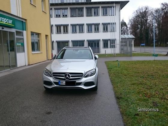 Mercedes Benz C180 Europcar