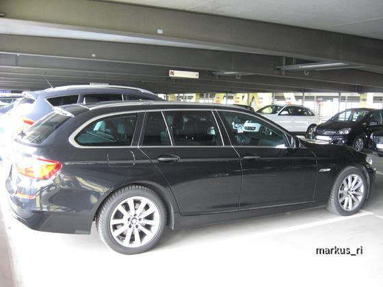 AVIS LEJ 11.06. - BMW 520d Touring Automatik