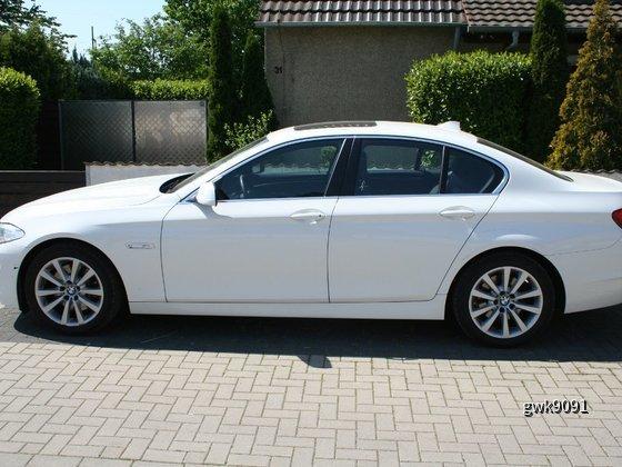 BMW 525d von Hertz (Langenfeld) vom 29.04. bis 02.05.2011