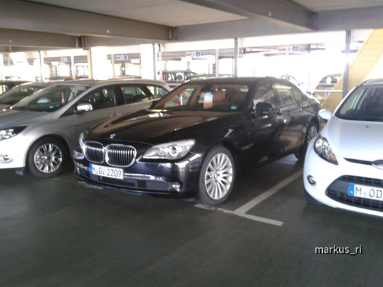BMW 730d @ SIXT LEJ 05.11.