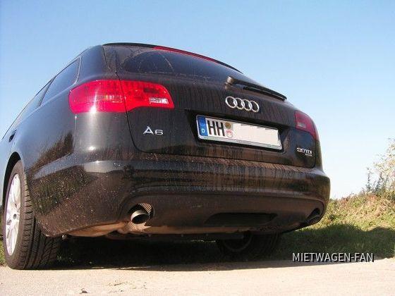 """Ein A6 Avant von """"unten"""""""