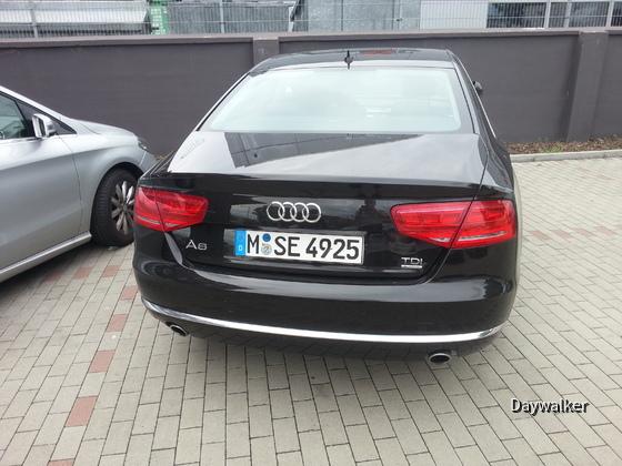 Audi A8 (TDI - genaue Motorisierung unbekannt)