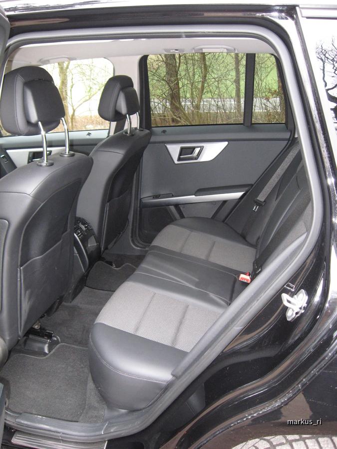 GLK Sixt LEJ - hintere Sitzreihe