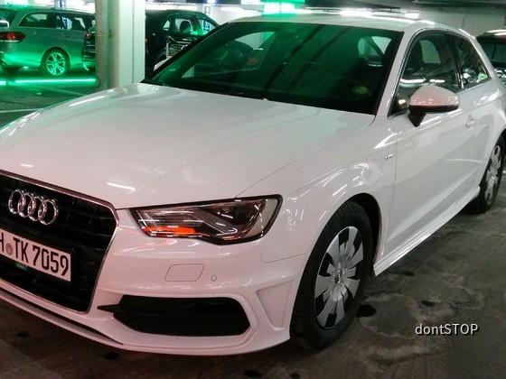 Audi A3 von Europcar