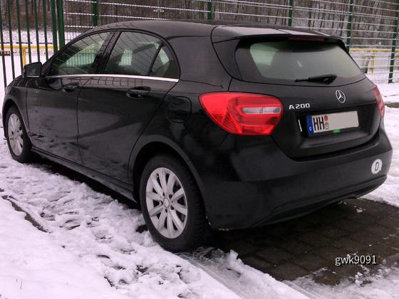 MB A 200 von Europcar