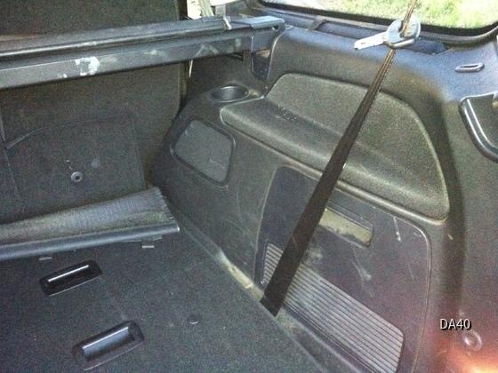 Ford Galaxy 2,2-l-TDCi Titanium Kofferraum recht