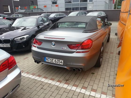 BMW M6 - Heckansicht