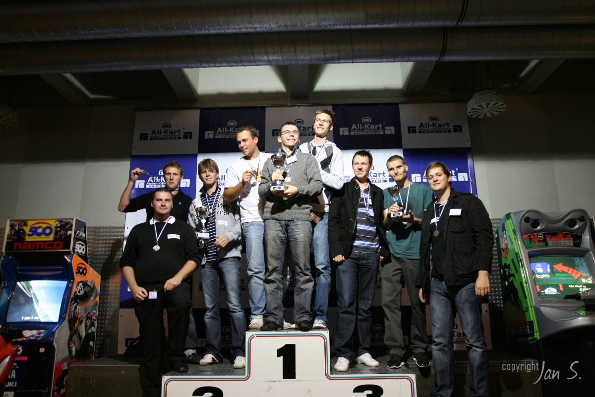 Siegerehrung MwT Kart Cup 2010