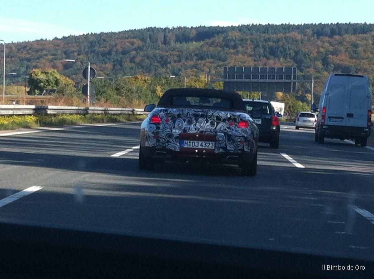 BMW 6er Cabrio Erlkönig