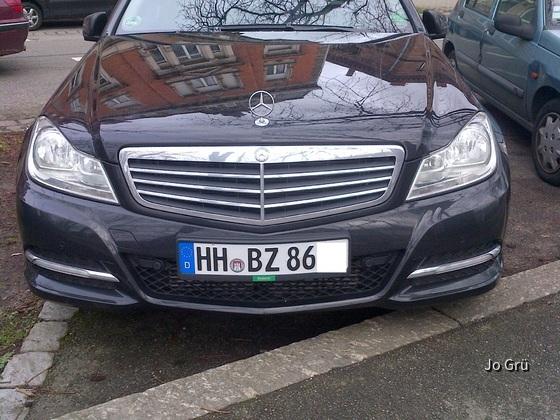 Mercedes C220 CDI Limousine von Europcar