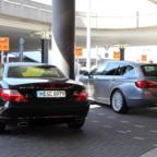 Mercedes-Benz SLK200, BMW 530d X-Drive
