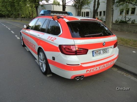 BMW 520d (?) als NEF