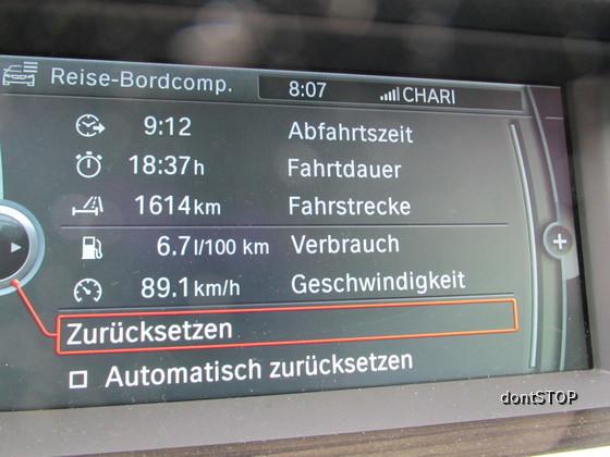 BMW_520dT Verbrauch