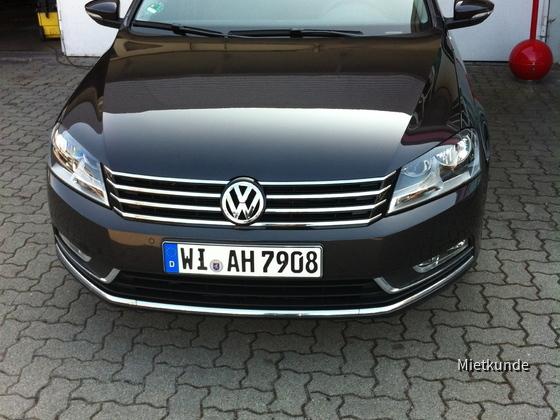 VW Passat 2.0 TDI AVIS Ludwigshafen 16.-19.03.2012