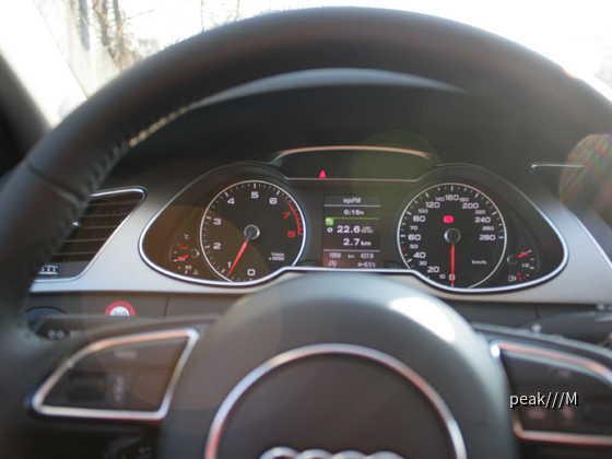 A4 Avant TFSI 125 kW von Europcar, 5.3.