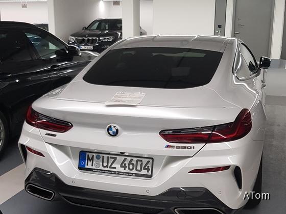 M850i @ BMW Rent München