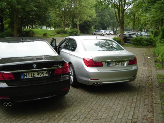 """7er """"Treffen"""" Bobby84 und Benny85Bo  730d Lang vs. 730d"""