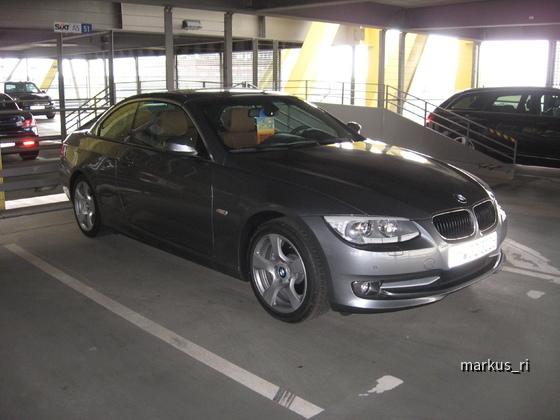SIXT LEJ 11.06. - BMW 320d Cabrio Automatik