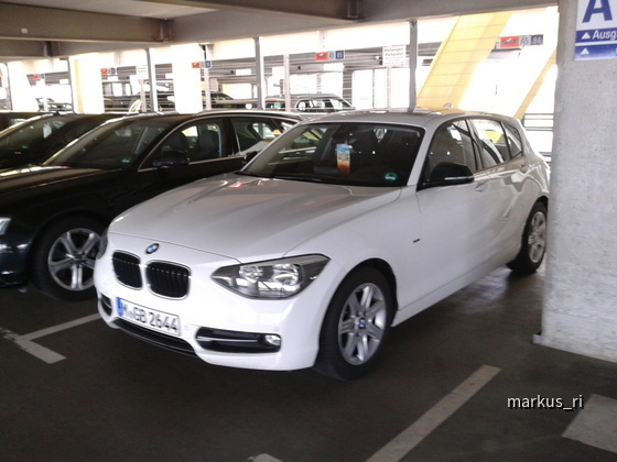BMW 116dA @ SIXT LEJ 14.07.2012