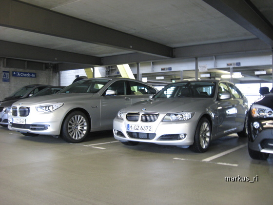 LEJ 04.07. - 530d GT + 325dA Sixt