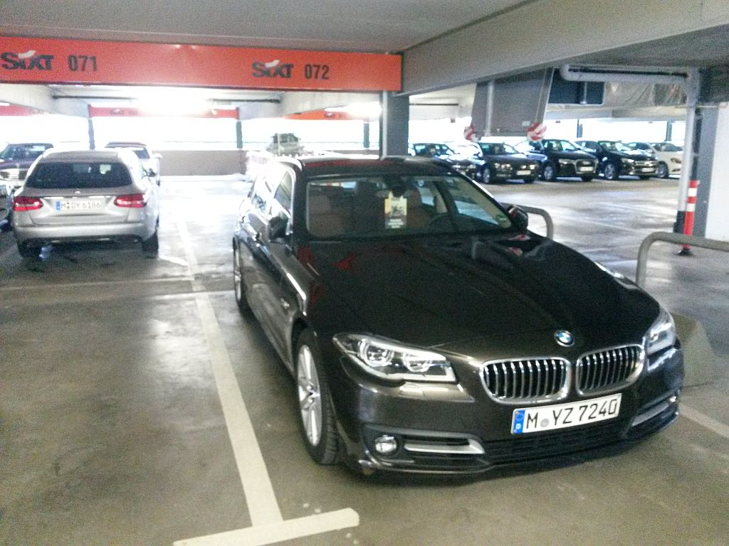Sixt Hamburg Flughafen - 14.05.2015