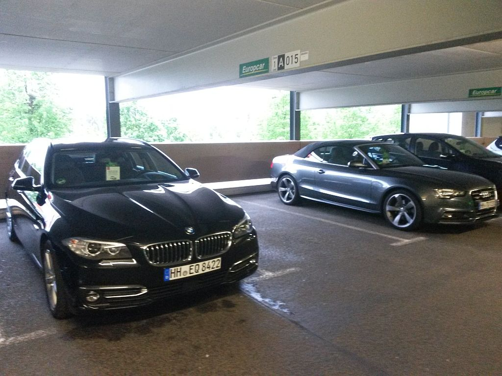 Europcar Hamburg Flughafen - 14.05.2015
