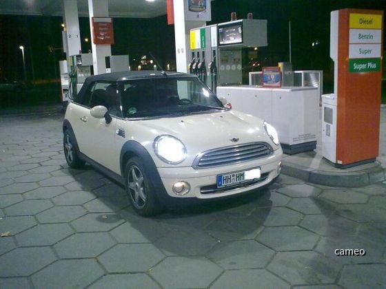 Mini Cooper Cabrio von Europcar
