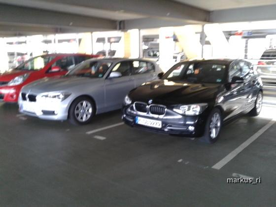 BMW 116d F20, BMW 116dA F20 @ SIXT LEJ 14.07.2012