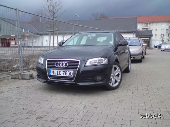 Audi A3 Sportback 2.0 TDI Dresden Flughafen