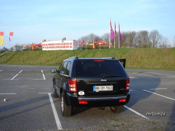 Jeep Grand Cherokee Limited Europcar in Holland