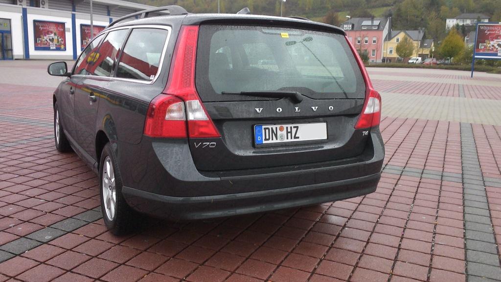 Volvo V70 T4 von Hertz